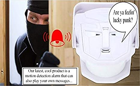 Amazon.com: Wireless Infrared Motion Sensor. Scare off Porch ...