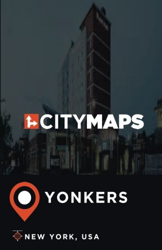 City Maps Yonkers New York, USA