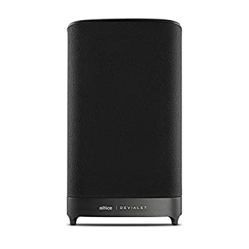 Image of Altice Amplify - High-Fidelity TV Smart Speaker with Sound by Devialet, Alexa Voice Control, Bluetooth and Wireless Streaming Portable Bluetooth Speakers