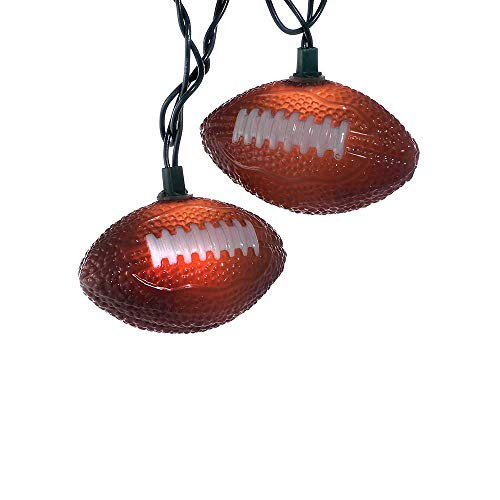 Kurt Adler UL1368 Football Light Set, 10 ()