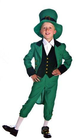 GQ Papel cos rendimiento de Halloween clásico irlandés traje ...