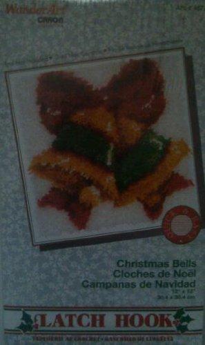 Christmas Bells Latch Hook Kit by WonderArt