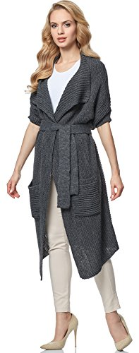 Merry Style Cardigan para mujer MSSE0028 Graphite