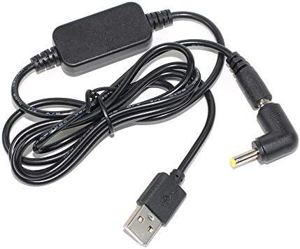 AEcreative USB Power Supply Travel Charger Cable for Yaesu air-Band Radio FTA-750L FTA-750 FTA-550L FTA-550 FTA-450L FTA-720 FTA-310 FTA-230 VXA-300 VXA-220 VXA-700 VXA-710 VXA-210 VXA-150