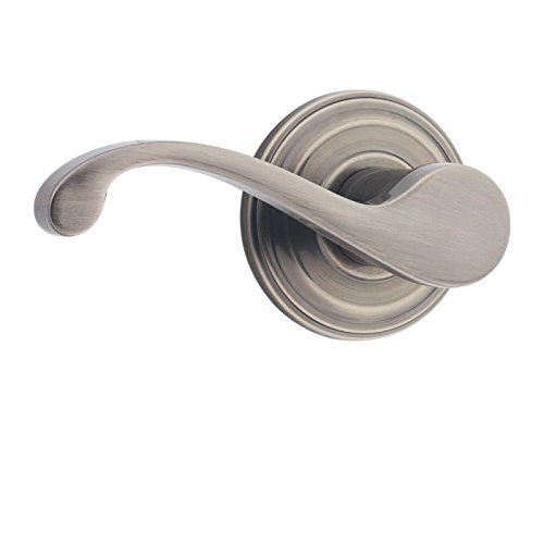 Kwikset 966CHL RH 15 99660-087 Commonwealth Right-Handed Single Cylinder Interior Pack Lever, Satin Nickel