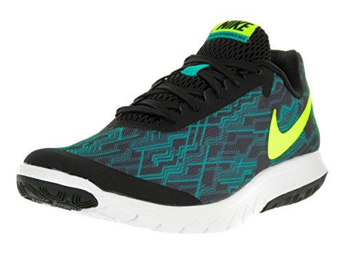 Nike Men's Flex Experience RN 5 Prem, Black/Volt-Clear Jade-White Black/Volt/Clear Jade/White