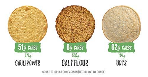CALI'FLOUR Plant Based Cauliflower Pizza Crust, 2 Count