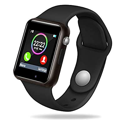 Lansen Smart Watch Compatible with iPhone 5s/6/6s/7/7s and Android 4.3 Above, Anti Lost and Pedometer Fitness Tracker (Partial Functions)