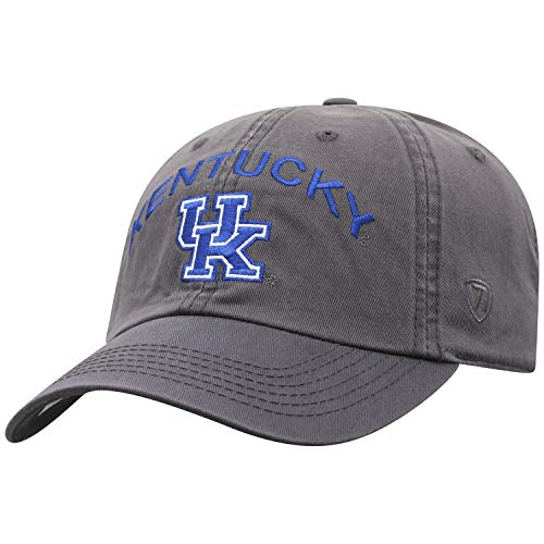 Top of the World Kentucky Wildcats Men's Hat Arch, Charcoal, Adjustable ()