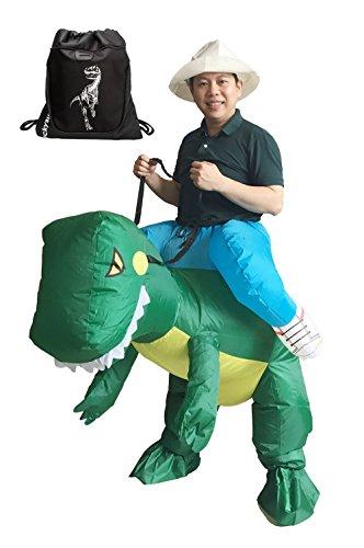 Inflatable Costume Dinosaur T-REX Adult Fancy Dress