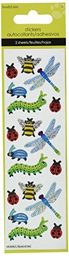 Sandylion Bugs Slim Stickers