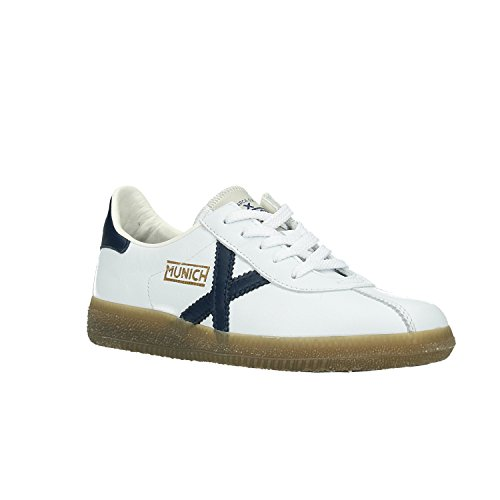 Basses Adulte Barru Blanc Munich Sneakers Mixte wxETOaO
