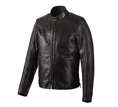 Harley-Davidson Official Men's Temerity Slim Fit Leather Jacket, Black (XX-Large)