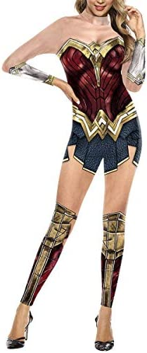 FHTD Wonder Woman Cosplay Disfraz Justice League Superhero ...