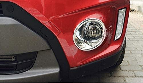 2pcs Car Chrome Front Fog Light Lamp Frame Cover Trim For Vitara 2015 2016 2017 2018 2019 2020
