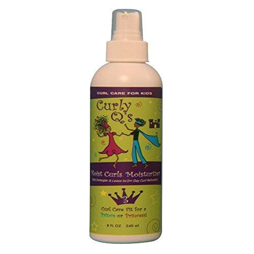 Curly Q's Moist Curls Detangler/daily Curl Moisturizer, 8-Ounce Bottle