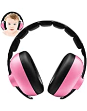 Baby Ear Protection - Noise Canceling Muffs for Babies Infant Tots Toddler Child - Kids Hearing Protection Earmuffs - Sound Proof Noise Canceling Headphones - Ages 0 and Above