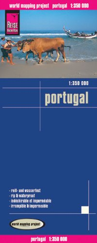 Reise Know-How Landkarte Portugal (1:350.000): world mapping project