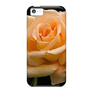 For , High Quality Great Orange Rose For Ipod Touch 5 Case Cover over Cases