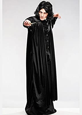 Magic Box Adulto para Hombre Professor Snape Style Costume con ...