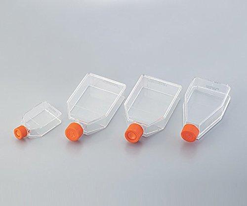 コーニング2-2063-10細胞培養用フラスコ(ベントキャップ/アングルネック)225mL B07BD2ZHMB