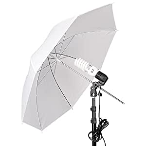 Emart Umbrella Lighting Kit for Photography Studio, 200W 5500K Photo Light Reflector for Video Lighting, Continuous Lighting, Camera Portrait Shooting Daylight