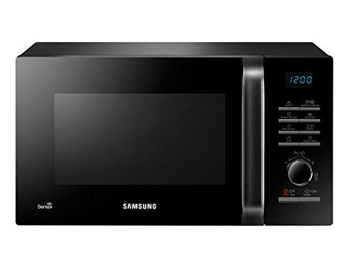 Samsung MG23H3125NK - Microondas con grill, 23 litros, 1200 W, con sensor de humedad, color negro: Amazon.es: Hogar