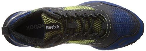 Reebok Sportschuhe Laufschuhe Outdoor WILD EXTREME BLAZE M40554 Farbe HIGHVISGREEN/IMPACT BLUE/GRVEL/MATTE SLV/WHT Herren Größe US 12 EU 45,5