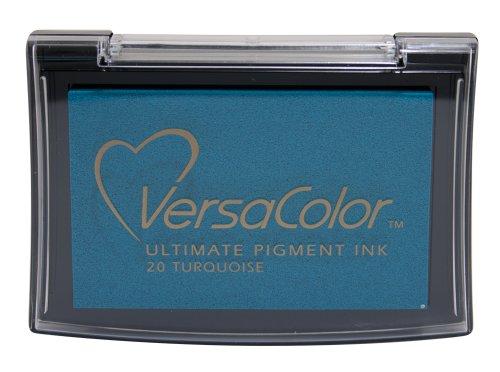 Tsukineko Full-Size VersaColor Ultimate Pigment Inkpad, Turquoise