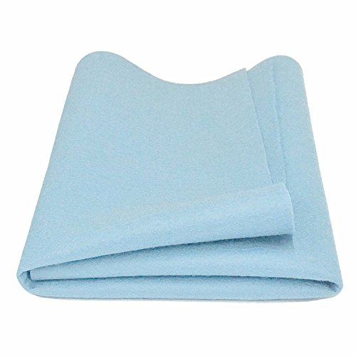 - 100% Merino Wool Craft Felt - BABY BLUE (18
