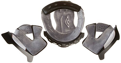 Stealth F117 Replacement Full Face Helmet Extreme Comfort System Liner (Gray, X-Large)