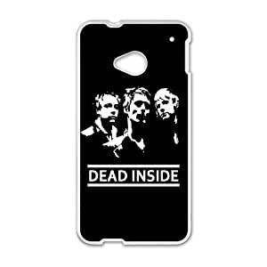 Muse HTC One M7 Cell Phone Case White Kqyzj