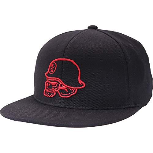 Metal Mulisha Logo Mens Hat - Metal Mulisha Men's Raise Fitted Hats,Large/X-Large,Black
