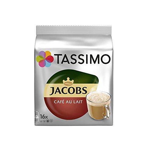 Tassimo Jacobs Café Au Lait (16 servings) (Pack of 6)