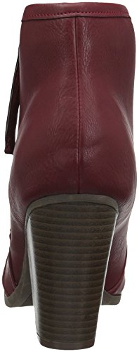 ... Brinley Co Kvinners Zelda Ankel Boot Red ...