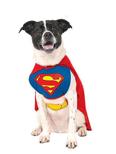 DC Comics Pet Costume, Superman from Rubie's