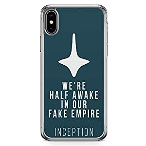 Loud Universe Quote Top Movie Quote iPhone XS Max Case Inception Movie iPhone XS Max Cover with Transparent Edges