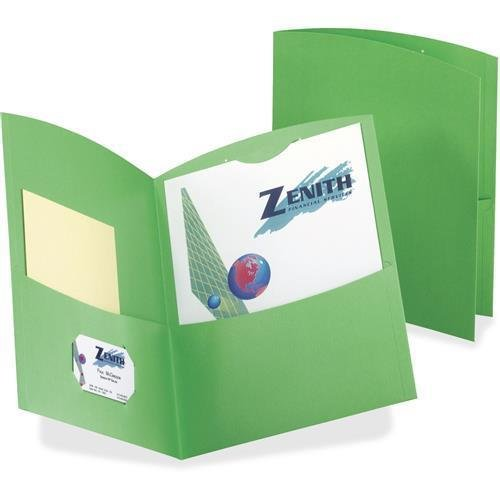 50625-60 TOPS Contour Twin Pocket Folders - Letter - 8.50
