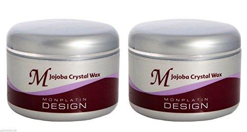 Mon Platin Wax X 2 Jojoba Crystal Professional Wax 250ml FREE (Jojoba Wax)