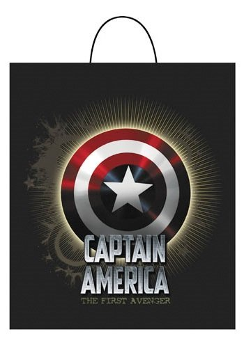 Captain America Movie Treat Bag - Captain America Movie Essential Treat Bag