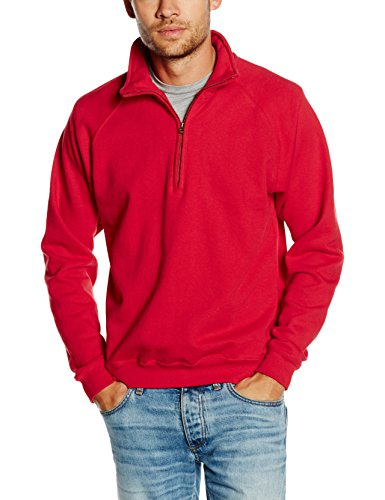 Rouge The red shirt Homme Loom Fruit Sweat Of 0YnxfxAP