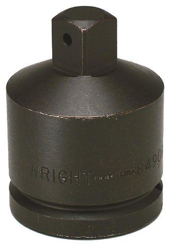 Wright Tool 84900 Adaptador de impacto de 1-1 / 2 pulgadas F por 1 pulgada M con accionamiento de 1-1 / 2 pulgadas
