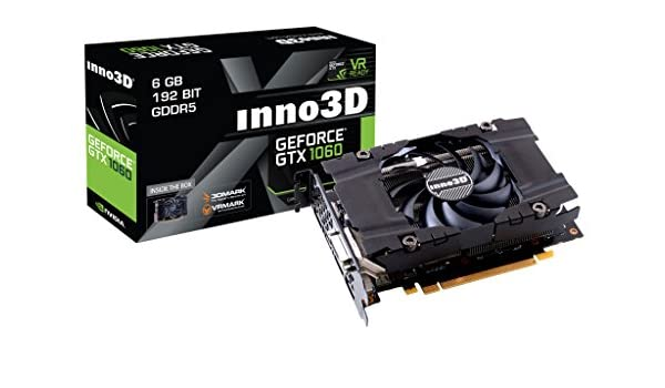Inno3D N1060-2DDN-N5GN GeForce GTX 1060 6GB GDDR5 - Tarjeta ...