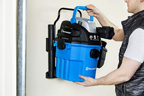 Vacmaster Wall Mountable Vacuum - 5 HP, Wet & Dry Vac VWM510