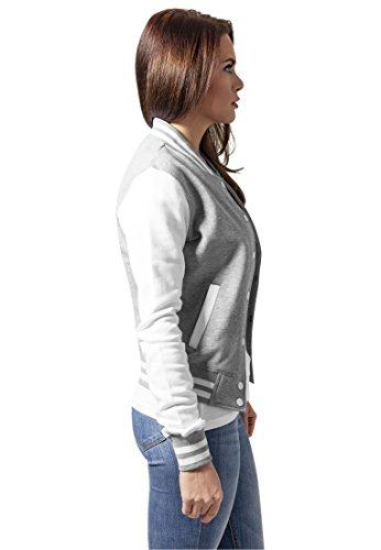 Classics para Urban gry Sudadera Mujer wht aqxTdB8x