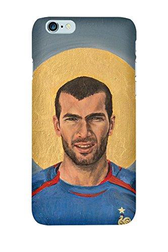 artboxONE Premium-Handyhülle iPhone 6/6S Ikone Zidane - Sport Sport / Fußball Menschen - Smartphone Case mit Kunstdruck hochwertiges Handycover kreatives Design Cover von David Diehl