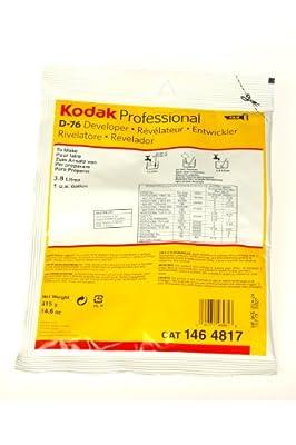 Kodak D-76 Developer Powder, B and W Film 1 Gallon by Kodak