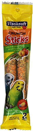 Glazed Sticks Orange (Vitakraft Parakeet Orange Glazed Treat Sticks)