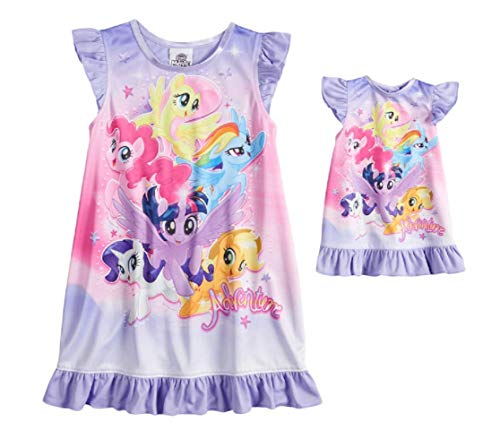 "My Little Pony ""Adventure Dorm Nightgown & Doll Nightgown"