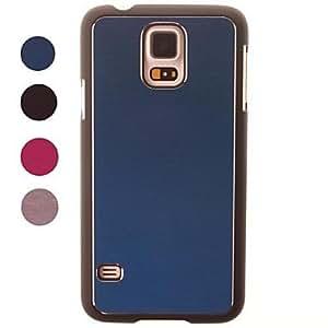 MOFY-Cepillado caja de aluminio duro de protecci—n para el Samsung Galaxy S5 i9600 (colores surtidos)